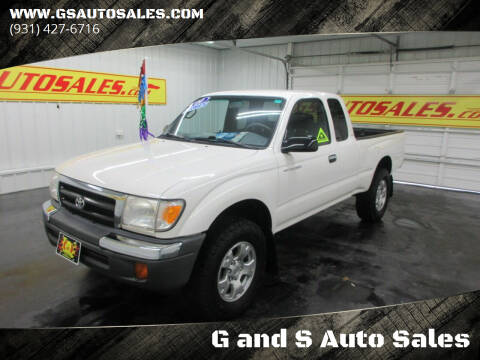 2000 Toyota Tacoma for sale at G and S Auto Sales in Ardmore TN