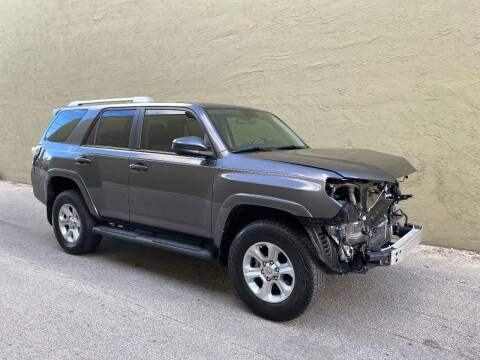 2018 Toyota 4Runner for sale at My Car Inc in Pls. Call 305-220-0000 FL