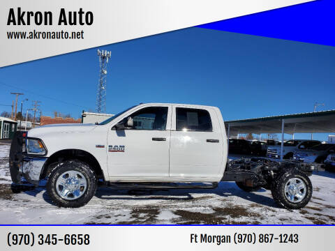 2014 RAM Ram Pickup 2500 for sale at Akron Auto in Akron CO