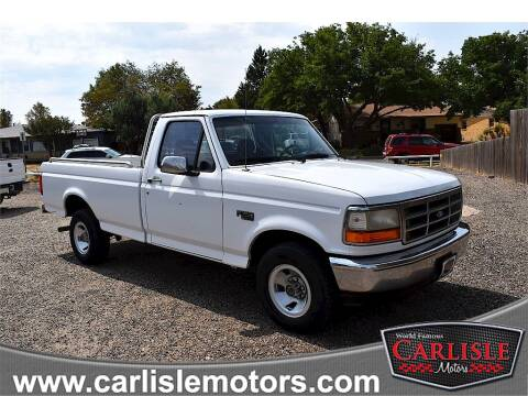 1995 Ford F-150 for sale at Carlisle Motors in Lubbock TX