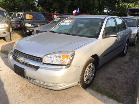 2004 Chevrolet Malibu for sale at Ody's Autos in Houston TX