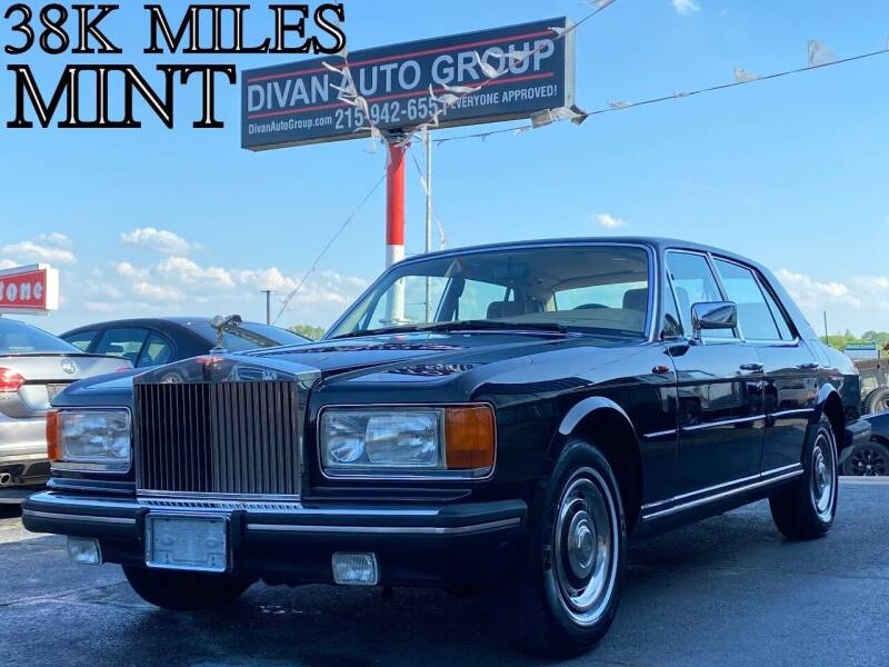 1985 Rolls-Royce Silver Spur for sale at Divan Auto Group in Feasterville PA
