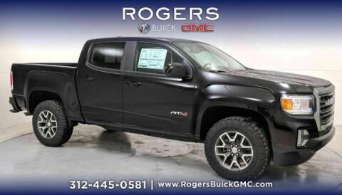 2021 GMC Canyon for sale at ROGERS  AUTO  GROUP in Chicago IL