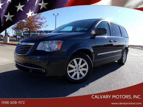 2013 Chrysler Town and Country for sale at Calvary Motors, Inc. in Bixby OK
