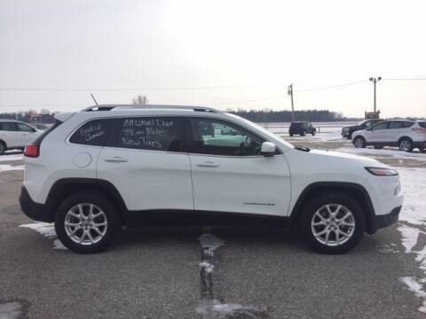 2016 Jeep Cherokee for sale at THEILEN AUTO SALES in Clear Lake IA