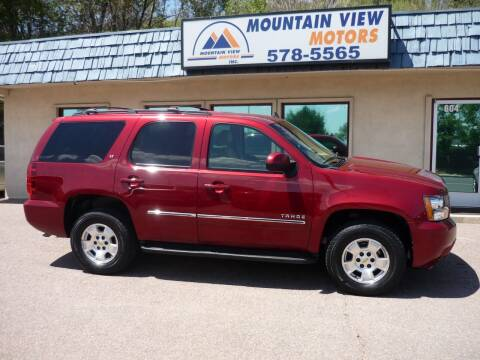 2011 Chevrolet Tahoe for sale at Mountain View Motors Inc in Colorado Springs CO