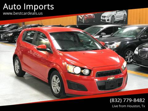 2013 Chevrolet Sonic for sale at Auto Imports in Houston TX