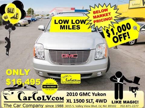 2010 GMC Yukon XL for sale at The Car Company in Las Vegas NV