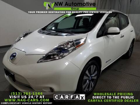 2013 Nissan LEAF for sale at NW Automotive Group in Cincinnati OH