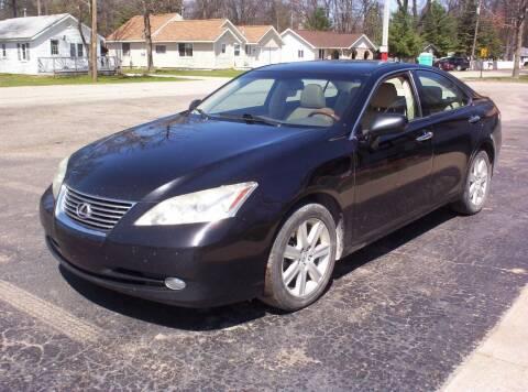 2008 Lexus ES 350 for sale at LAKESIDE MOTORS LLC in Houghton Lake MI