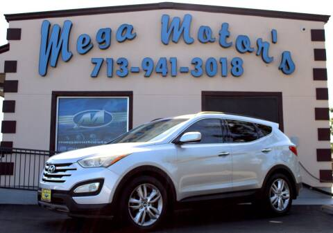 2016 Hyundai Santa Fe Sport for sale at MEGA MOTORS in South Houston TX