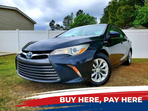 2015 Toyota Camry Hybrid for sale at Real Deals of Florence, LLC in Effingham SC
