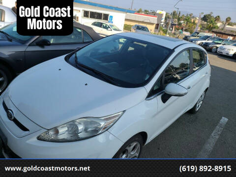 2011 Ford Fiesta for sale at Gold Coast Motors in Lemon Grove CA