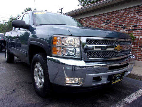 2013 Chevrolet Silverado 1500 for sale at Certified Motorcars LLC in Franklin NH
