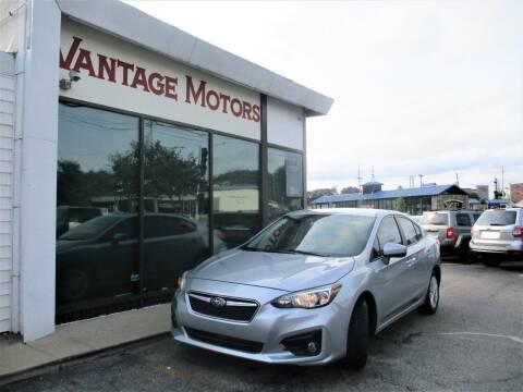 2018 Subaru Impreza for sale at Vantage Motors LLC in Raytown MO