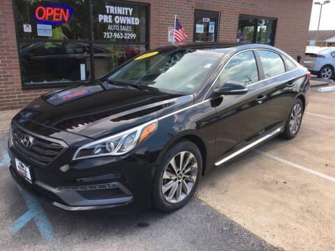 2015 Hyundai Sonata for sale at Bankruptcy Car Financing in Norfolk VA