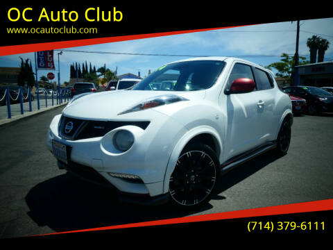 2014 Nissan JUKE for sale at OC Auto Club in Midway City CA