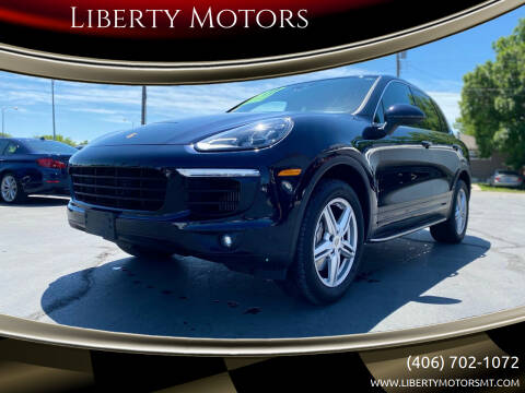 2017 Porsche Cayenne for sale at Liberty Motors in Billings MT