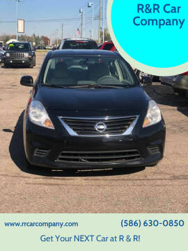 2012 Nissan Versa for sale at R&R Car Company in Mount Clemens MI