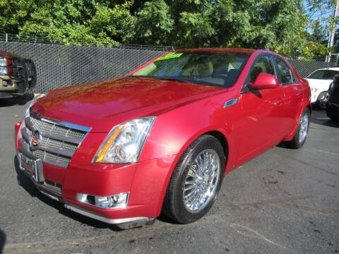 2009 Cadillac CTS for sale at LULAY'S CAR CONNECTION in Salem OR