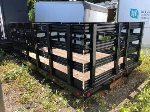 12FT Reading Steel Rack body  Reading H12W BLK for sale at Advanced Truck in Hartford CT