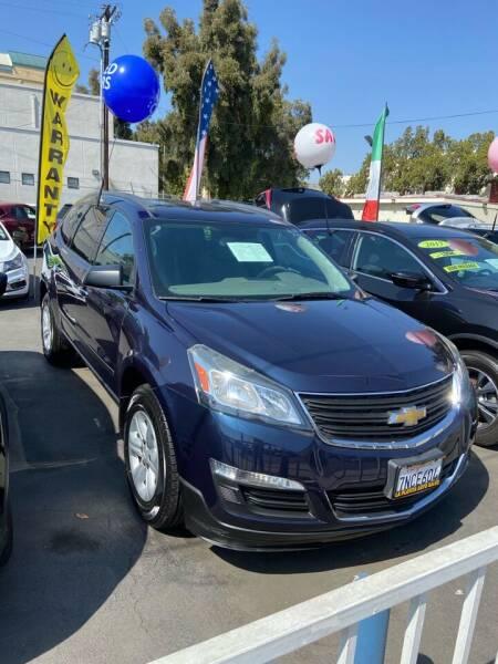 2015 Chevrolet Traverse for sale at 2955 FIRESTONE BLVD - 3271 E. Firestone Blvd Lot in South Gate CA