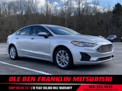2019 Ford Fusion Hybrid for sale at Ole Ben Franklin Mitsbishi in Oak Ridge TN