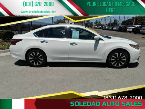 2018 Nissan Altima for sale at Soledad Auto Sales in Soledad CA