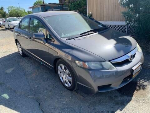 2011 Honda Civic for sale at Contra Costa Auto Sales in Oakley CA
