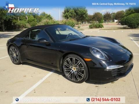 2016 Porsche 911 for sale at HOPPER MOTORPLEX in Mckinney TX