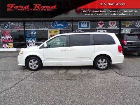 2012 Dodge Grand Caravan for sale at Ford Road Motor Sales in Dearborn MI