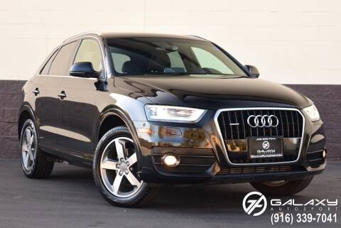 2015 Audi Q3 for sale at Galaxy Autosport in Sacramento CA