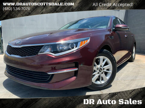 2017 Kia Optima for sale at DR Auto Sales in Scottsdale AZ