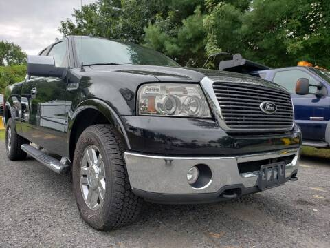2008 Ford F-150 for sale at Jacob's Auto Sales Inc in West Bridgewater MA