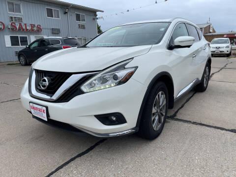 2015 Nissan Murano for sale at De Anda Auto Sales in South Sioux City NE