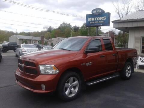 2013 RAM Ram Pickup 1500 for sale at Route 106 Motors in East Bridgewater MA