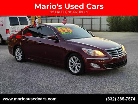 2012 Hyundai Genesis for sale at Mario's Used Cars - Pasadena Location in Pasadena TX