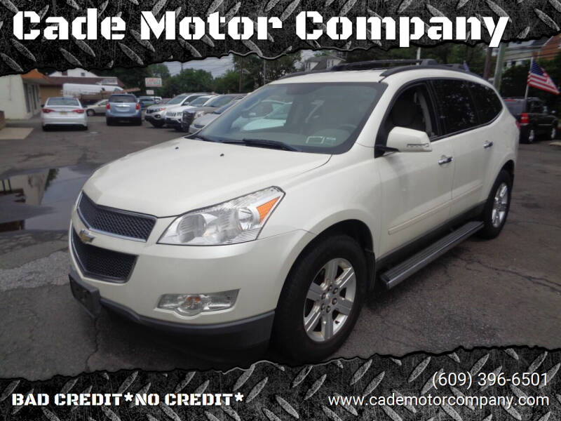 2012 Chevrolet Traverse for sale at Cade Motor Company in Lawrence Township NJ