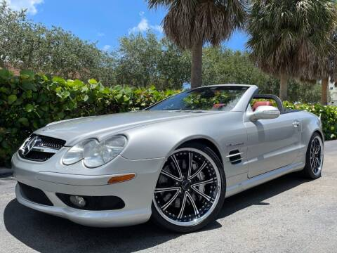 2003 Mercedes-Benz SL-Class for sale at DS Motors in Boca Raton FL