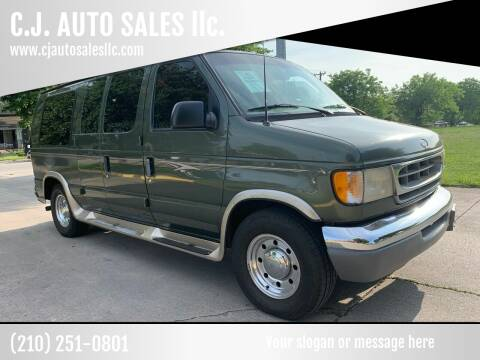 2002 Ford E-Series Chassis for sale at C.J. AUTO SALES llc. in San Antonio TX