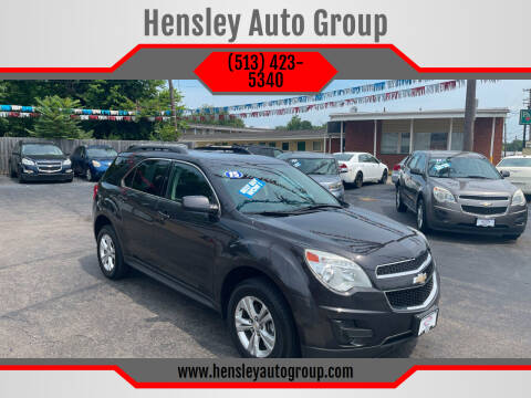 2015 Chevrolet Equinox for sale at Hensley Auto Group in Middletown OH