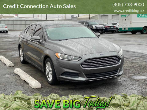 2013 Ford Fusion for sale at Credit Connection Auto Sales in Midwest City OK