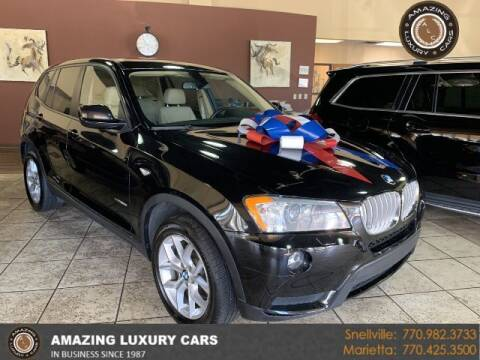 2014 BMW X3 for sale at Amazing Luxury Cars in Snellville GA