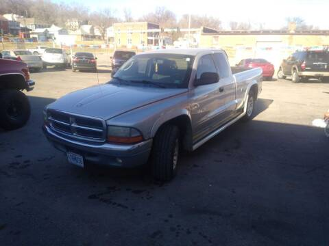 2002 Dodge Dakota for sale at Jak's Preowned Autos in Saint Joseph MO
