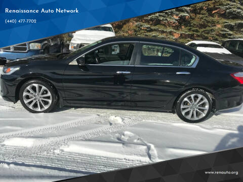 2014 Honda Accord for sale at Renaissance Auto Network in Warrensville Heights OH