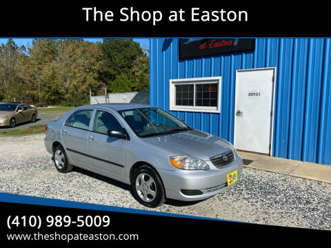 2008 Toyota Corolla for sale at The Shop at Easton in Easton MD