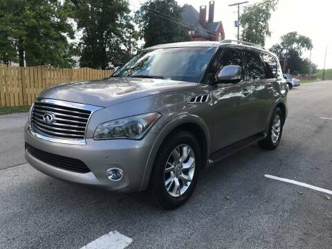 2011 Infiniti QX56 for sale at Eddie's Auto Sales in Jeffersonville IN