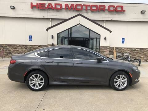 2016 Chrysler 200 for sale at Head Motor Company - Head Indian Motorcycle in Columbia MO