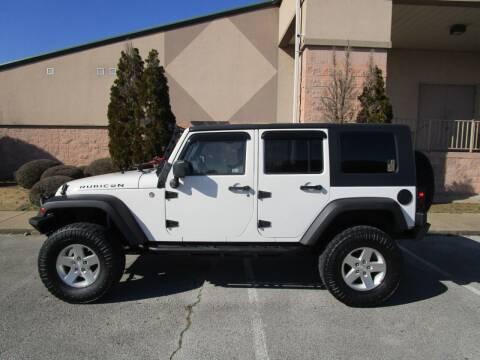 2009 Jeep Wrangler Unlimited for sale at JON DELLINGER AUTOMOTIVE in Springdale AR
