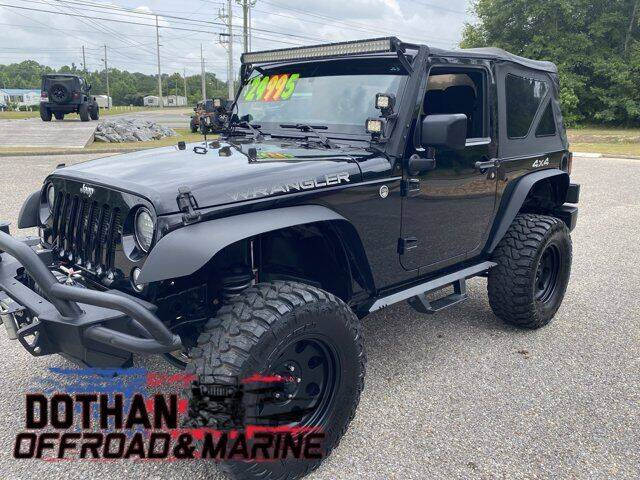 2014 Jeep Wrangler for sale at Dothan OffRoad And Marine in Dothan AL